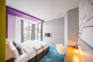 projektowanie hoteli - IBIS LVIV - pokój - EC5 Architekci